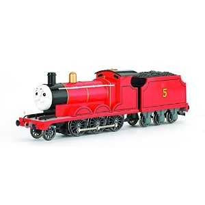 Bachmann Trains Thomas And Friends - James The Red Engine With Moving Eyes [並行輸入品]