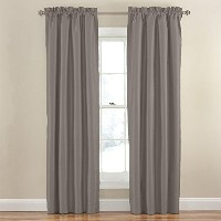 High Qualityolid Blackout Window Curtain Panel, 42 by 84-Inch, Grey