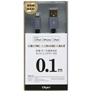 iPad/mini/iPhone/iPod対応Lightning-USBケーブル LNC‐F01GY