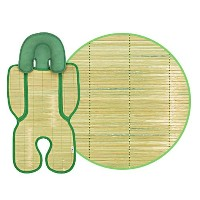 MOACARE Bamboo Baby Cool Seat 1EA for Strollers, Car Seats, Baby Carriage by MOACARE