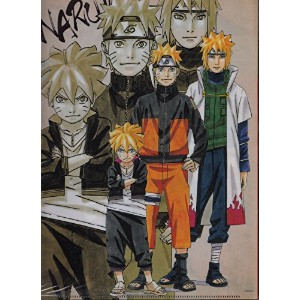 2015 NARUTO展限定 ナルト クリアファイル「火影セット」2枚組
