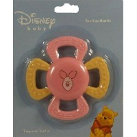 Piglet Teether Rattle for Baby Girls (colors may vary) by Disney