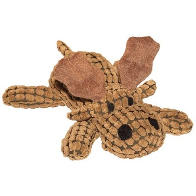 Patchwork Pet Waffle Wags Moose 14-Inch Squeak Toy for Dogs by Patchwork Pet