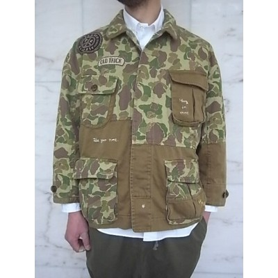 PORTER CLASSIC(ポータークラシック)【CAMO】P.C CAMO FATIGUE JACKET★