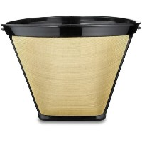 Medelco #4 Cone Permanent Coffee Filter by Medelco