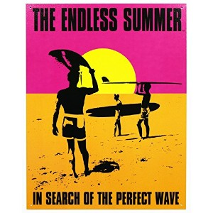 Endless Summer - Poster Metal Tin Sign 12.5W x 16H by Tin Signs