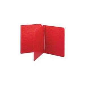 Side Opening PressGuard Report Cover, Prong Fastener, Letter, Bright Red (並行輸入品)