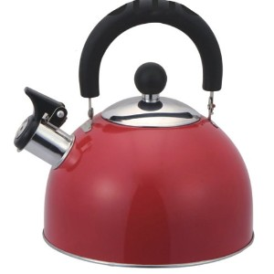 HDS Trading Tea Kettle Whistling 2.5 Liter Colors Vary - HDS Trading TK10349 by HDS Trading