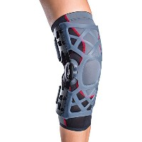 DonJoy OA Reaction WEB Knee Brace, Medial Right/Lateral Left, Medium by DONJOY [並行輸入品]