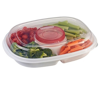 Rubbermaid Party Platter, Clear by Rubbermaid