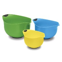 Cuisinart CTG-00-3MBM Set of 3 BPA-free Mixing Bowls, Multicolored [並行輸入品]