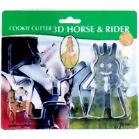 DULTON ダルトン 『3Dクッキーカッター ホース&ライダー Cookie cutter 3D Horse and Rider』 71263 A BL セット BL 3Dクッキーカッターホース...