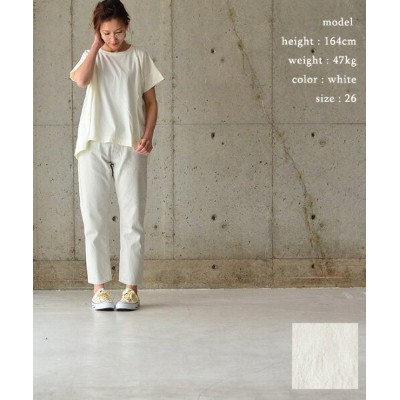 ORDINARY FITS オーディナリーフィッツ5POCKET ANKLE DENIM(WHITE)【送料無料】【あす楽対応】OM-P110ow