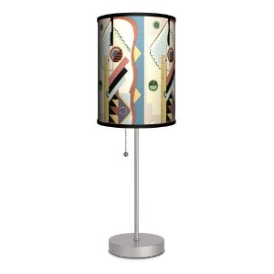 Dcor Art - Jazz Age Design A Sport Silver Lamp by Lamp-In-A-Box