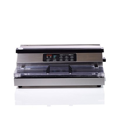 VacMaster PRO380 Suction Vacuum Sealer with Extended 16 Seal Bar by Vacmaster