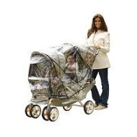 Especially for Baby Tandem Stroller Rain Cover by Babies R Us
