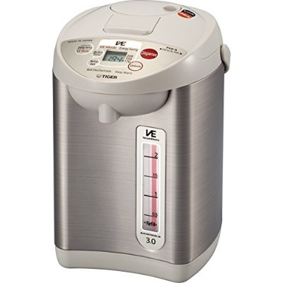 Tiger PVW-B30U Stainless Steel Vacuum Electric Water Dispenser, 3-Liter by Tiger Corporation