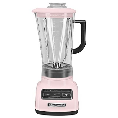KitchenAid ksb1575 5-speedダイヤモンドBlender with 60-ounce BPAフリーピッチャー None ピンク KSB1575PK