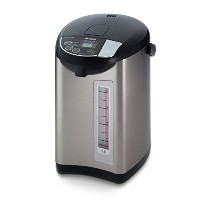 Tiger PDU-A50U-K Electric Water Boiler and Warmer, Stainless Black, 5.0-Liter by Tiger Corporation