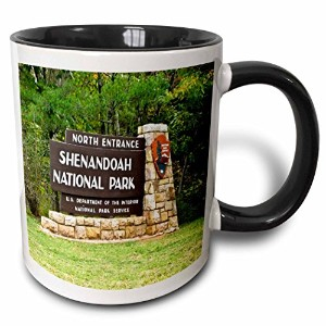 3drose Scenes from the Pastヴィンテージはがき – Shenandoah National Park – マグカップ 11 oz ホワイト mug_16257_4
