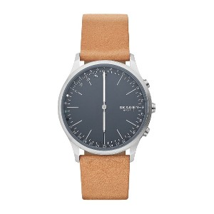 メンズ SKAGEN CONNECTED Jorn Hybrid Smartwatch スマートウォッチ タン