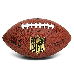 "Wilson(ウィルソン) NFL Gear Official Replica Game Ball ""The Duke"" -"