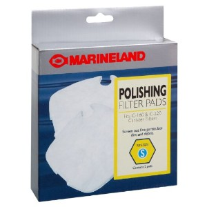 Marineland PA11480 C-160 & C-220 Canister Filter Polishing Filter Pads, by MarineLand