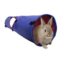 Living World Pet Tunnel, Blue/Red by Living World