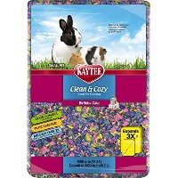 Kaytee Clean and Cozy Birthday Cake Bedding, 1000 Cubic Inch by Kaytee