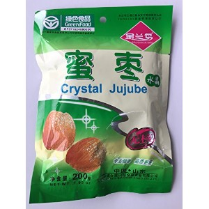 Green food 200g Crystal Jujube 無核 中国山東 金蘭鳥 GOLAEN BLUE BIRD