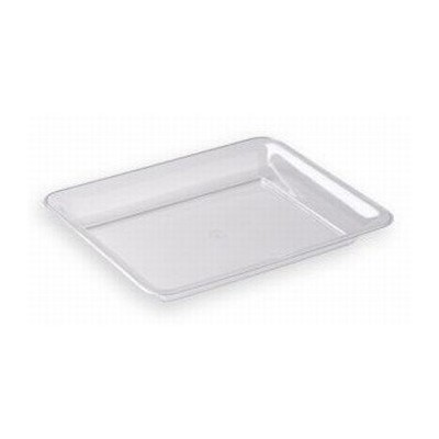 Clear Plastic Serving Tray, 10 x 8 by Maryland Plastics
