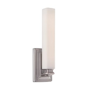 WAC照明Small 15インチBristol Vanity Sconce 15 Inches Wall Sconce WS-7115-AN 1