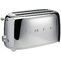 Smeg 4-Slice Toaster-Chrome by Smeg