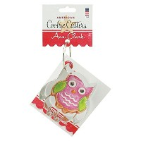 Owl Cookie and Fondant Cutter - Ann Clark - 3.5 Inches - US Tin Plated Steel by Ann Clark Cookie...